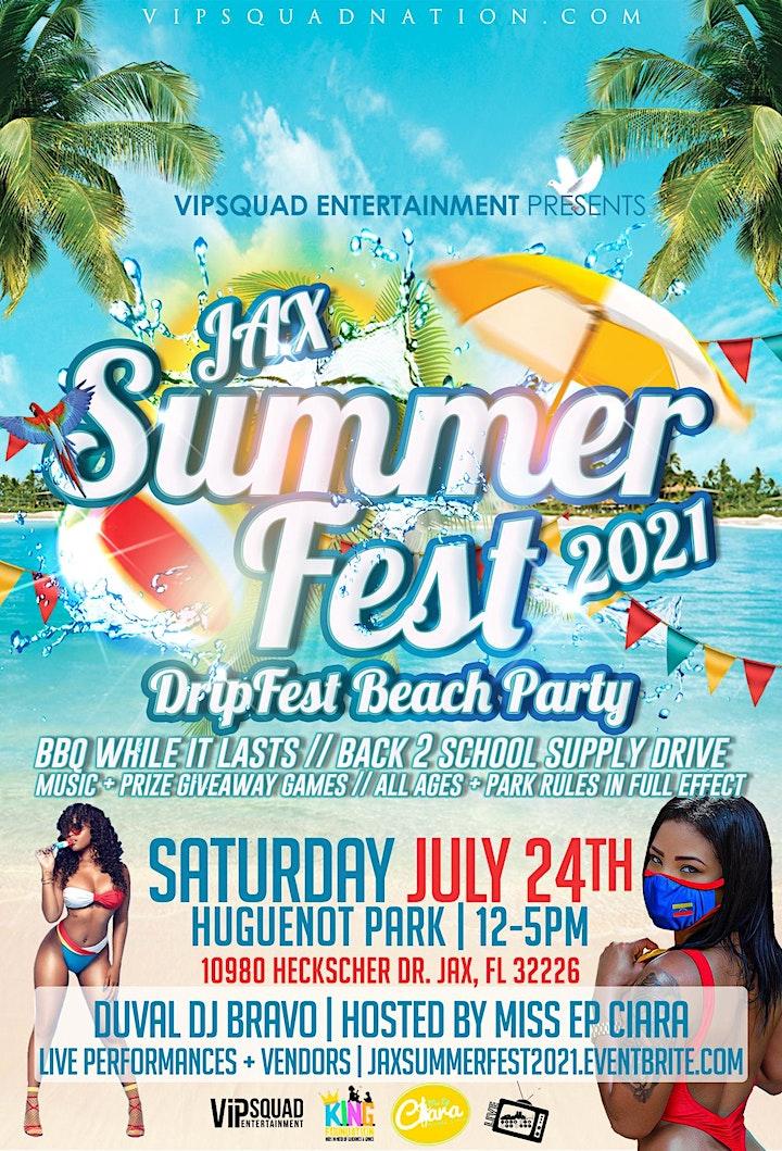 Jax Summer Fest 2021 image