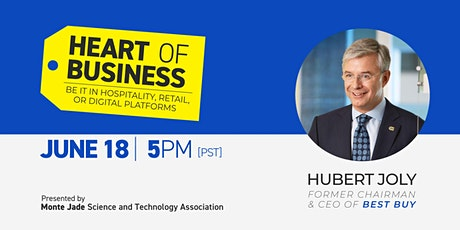 Heart of Business - Be it in Hospitality, Retail, or Digital Platforms tickets