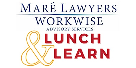 Mare Lawyers Workwise 2021Lunch & Learn Series tickets