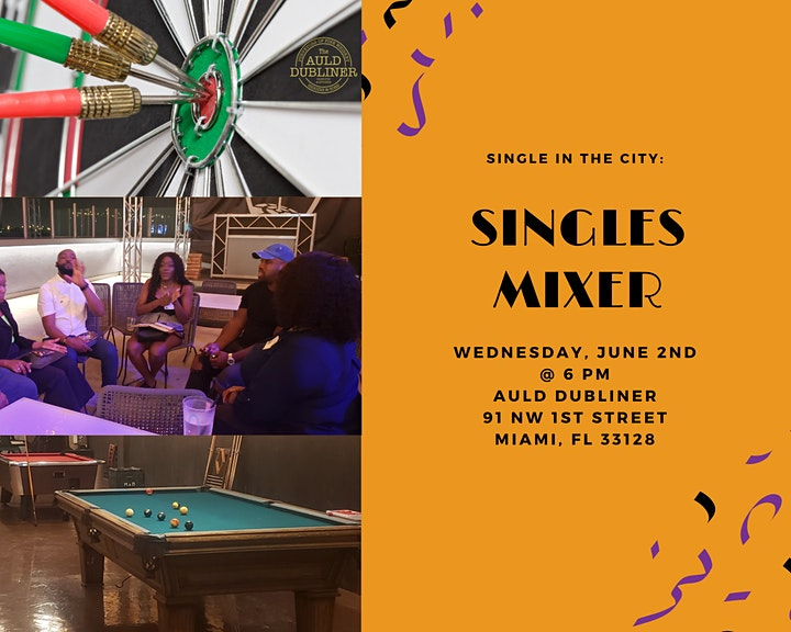Single in the City: a Singles Mixer image
