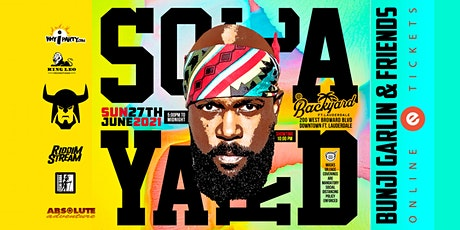 Bunji Garlin and friends performing live at  Soca Yard tickets
