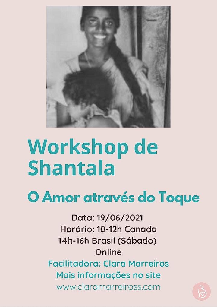 Imagem do evento Workshop de Shantala- O Amor através do Toque
