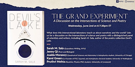 The Grand Experiment: A Discussion on the Intersections of Science & Poetry tickets
