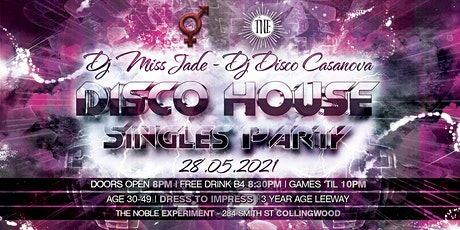 Disco House Singles Party | Age 30-49 tickets