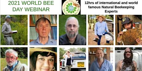 2021 WORLD BEE DAY NATURAL BEEKEEPING WEBINAR tickets