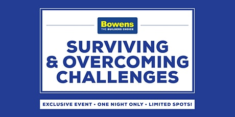 Surviving & Overcoming Challenges tickets