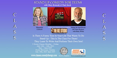 STAND UP COMEDY FOR TEENS with Mary Kennedy and Paul Jacek tickets