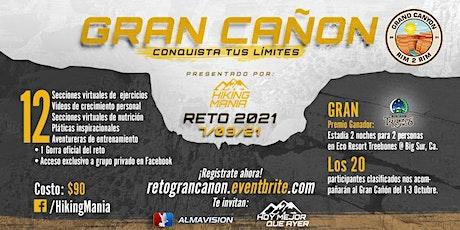 GRAN CAÑON -Reto 2021 tickets