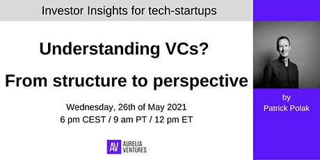 Investor Insights #1: Understanding VCs?  From structure to perspective tickets