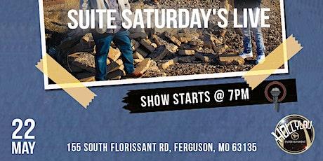 Suite Saturday's Live tickets