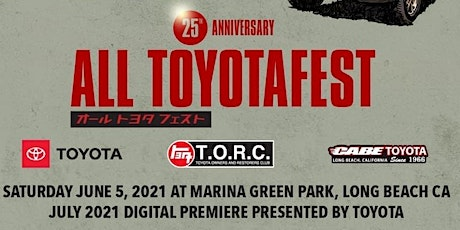 ALL TOYOTAFEST 6/5/2021 - (Pre-Registration required) tickets