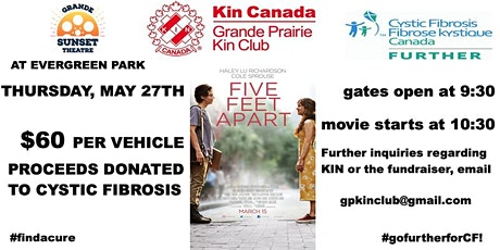 Kin Club Drive In Movie Night for Cystic Fibrosis tickets