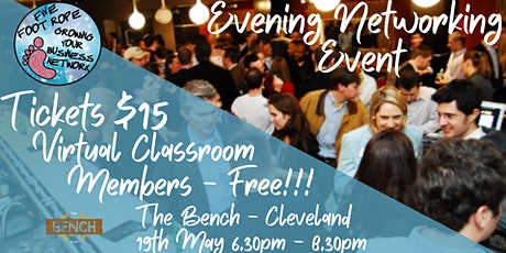 Five Foot Rope Evening Networking Event - May tickets