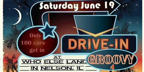 Drive-In Groovy 4 tickets