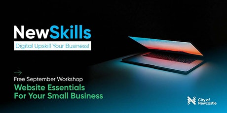 Digital Upskill Your Business! Workshop #5 (Online): Website Essentials tickets