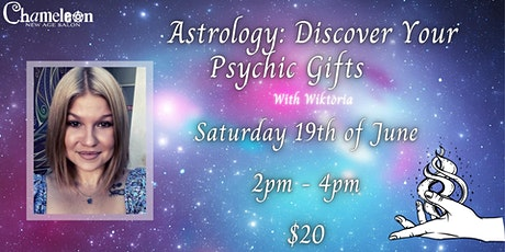 Astrology: Discover Your Psychic Gifts With Wiktoria tickets