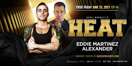 Cecil Russell's 4th annual PRIDE HEAT tickets