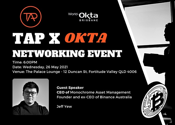 TAP & OKTA Networking Event May 2021 image
