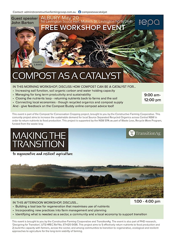 ALBURY: Compost as a Catalyst and Making the Transition image