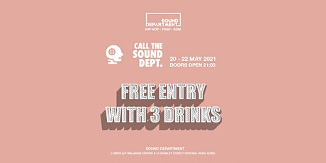 WEEKEND FREE DRINKS GUESTLIST @ Sound Department tickets