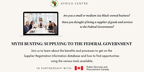 Black-Owned Businesses Supplying  to the Federal Government tickets