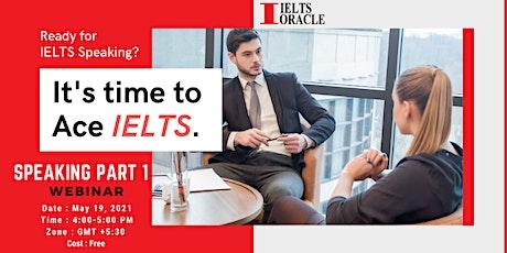 Free Ielts Speaking Webinar tickets