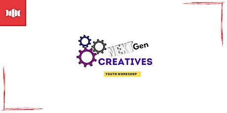 NEXT Gen CREATIVES - Nowra Library tickets