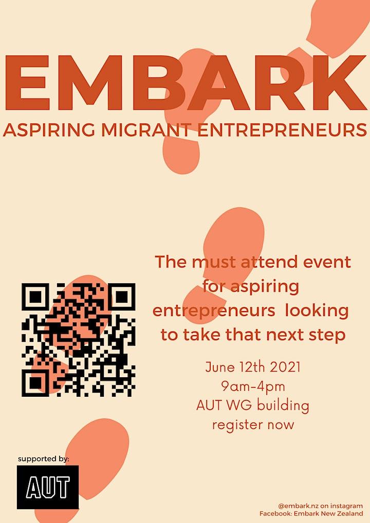 Embark - Aspring Migrant Entrepreneurs Event image