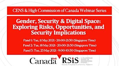 [Webinar] Gender, Security & Digital Space: Exploring Risks, Opportunities tickets