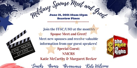Monthly Military Spouse Meet & Greet entradas