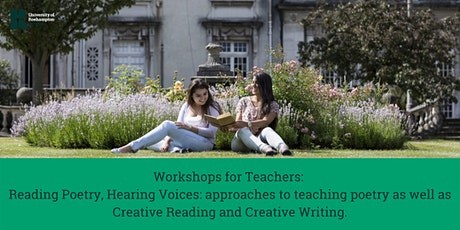 Workshops for Teachers: Reading Poetry and Creative Writing tickets