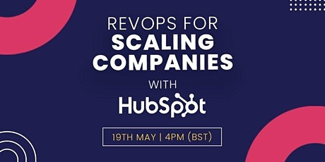 RevOps for Scaling Companies with HubSpot tickets
