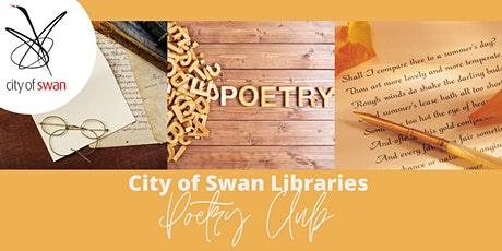 Poetry Club: Autobiography in Poetry & Letter Poems (Beechboro) tickets