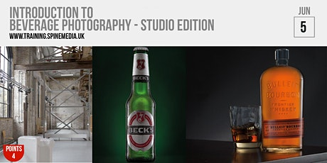 INTRODUCTION TO BEVERAGE PHOTOGRAPHY - STUDIO EDITION tickets