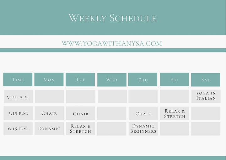 A Free Yoga Clas Trial on Yoga with Anysa image