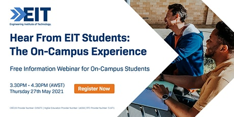 On-Campus Engineering Student Webinar - 27 May 2021 tickets