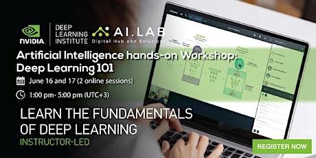 NVIDIA DLI Artificial Intelligence Workshop: Fundamentals of Deep Learning tickets
