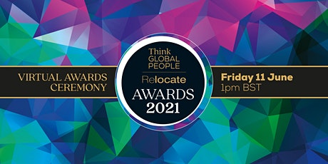 Relocate and Think Global People Virtual Awards Ceremony 2021 tickets