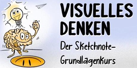 Kopie von Visuelles Denken  - Der Sketchnote-Grundlagenkurs tickets
