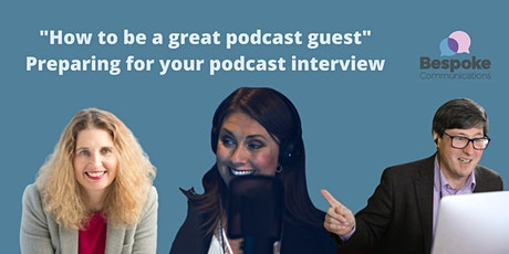 How to be a great podcast guest - Cardiff tickets