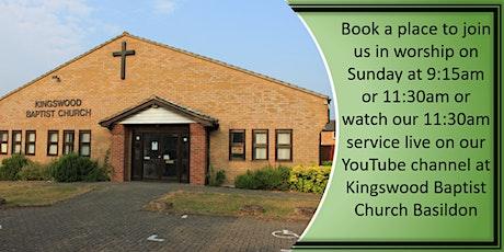 Sunday Morning Worship - 9:15am tickets