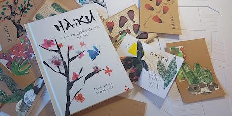 Laboratorio di poesia HAIKU per bambini e bambine con Silvia Geroldi biglietti
