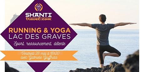 Running Yoga au Lac des Graves - Gabriele tickets