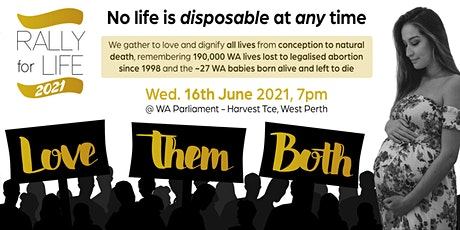 Rally For Life Perth 2021 tickets
