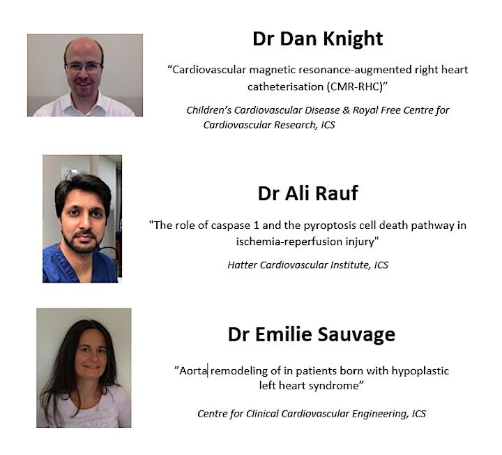 UCL Cardiovascular research Seminar image