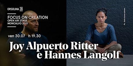 JOY ALPUERTO RITTER E HANNES LANGOLF - The fall tickets