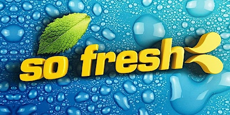 So Fresh Party! Register to be notified when tix go on sale tickets