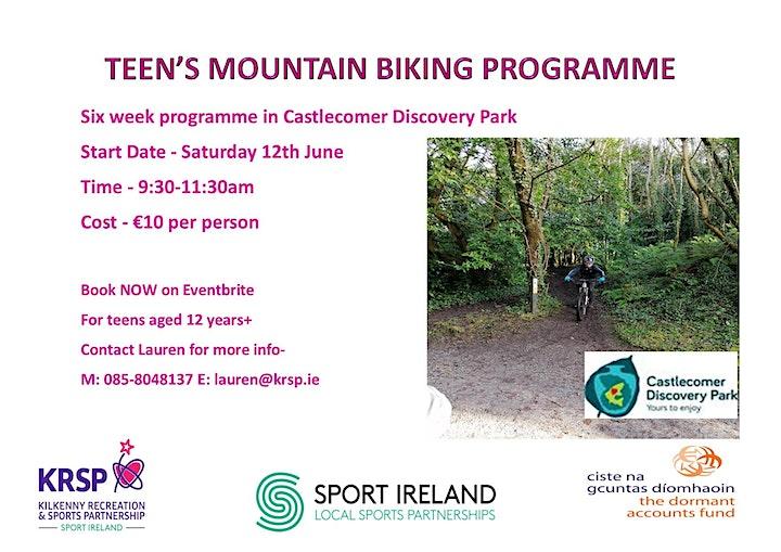 KRSP Teen's Mountain Biking Programme image