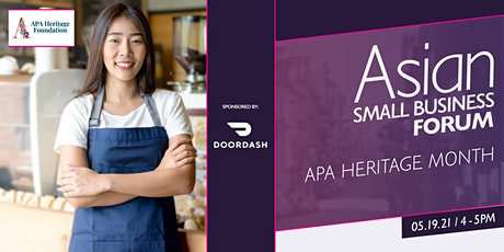 Asian Small Business Forum tickets