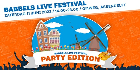 Babbels Live Festival: The Party Edition! tickets